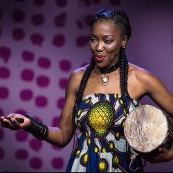 How I use the drum to tell my story | Kasiva Mutua