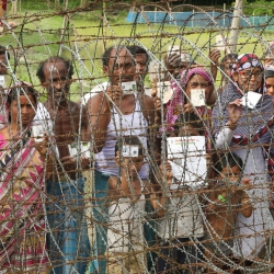 Village or Prison? Border village on the India-Bangladesh Border