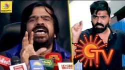 சன்டிவியை கிழித்த டிஆர் : T Rajendar Kicks Back at Sun TV by supporting Simbu | Cauvery Issue | DMK