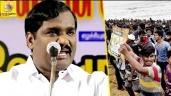மெரினாவில் போராட அனுமதி : Velmurugan Ask for youngsters to Protest in Marina | Cauvery Issue