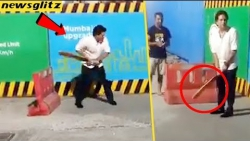 COOL ! : Sachin Amazing Street Cricket Play with Youngsters | Latest News