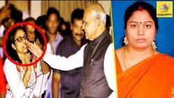கன்னத்தை கிள்ளிய சர்ச்சையில் Governor : Banwarilal Pats Journalist on her cheeks | Nirmala Case