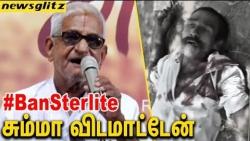 STTERLITE உங்கள சும்மா விடமாட்டேன் : Traffic Ramaswamy voiced against Tuticorin Sterlite