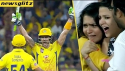 Dhoni's Wife OMG Reaction For CSK Thrilling Victory   CSK Vs SRH Match Highlights   IPL 2018