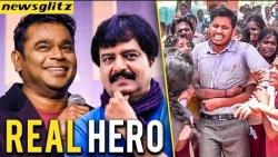 REAL HERO : TN Govt. Teacher Bhagavan Cling to his Students | Celebrities Talk
