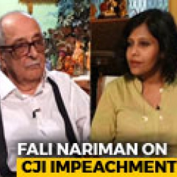Why Fali Nariman Opposes Chief Justice's Impeachment