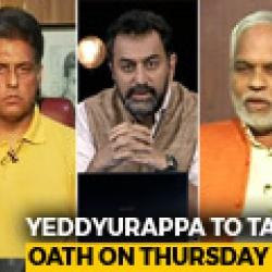 Yeddyurappa To Take Oath, Gets Letter From Karnataka Governor