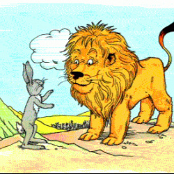 Chatur Kharsogh Aur SHer (Panchatantra Story in Hindi)