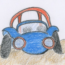 The Beach Buggy Show- a bedtime story and relaxation for kids
