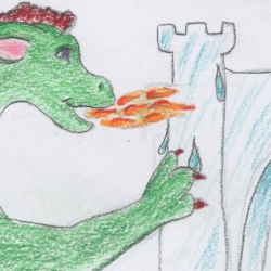 Dragon the Builder- a calming story for children