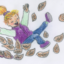 Leaves- children's story and guided relaxation