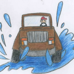 Encore Episode: Puddle Jumping – a bedtime story and relaxation for kids