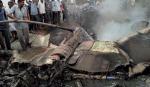 பாகிஸ்தான் விமானப்படையின் போர் விமானம் விழுந்து விபத்து | Pakistan Airforce's fighter plane crashes down