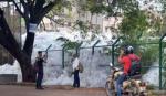 பெல்லாந்தூர் ஏரியிலிருந்து வெளியேறும் நச்சு நுரை | Bengaluru's Bellandur Lake continues to spill thick toxic foam