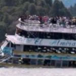 கொலம்பியாவில் படகு மூழ்கி விபத்து -  9 பேர் பலி, 28 பேர் மாயம் | 9 dead and 28 missing after tourist boat sinks in Colombia