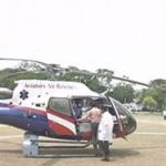 சென்னையில் ஹெலிகாப்டர் ஆம்புலன்ஸ் சேவை தொடக்கம் | Chennai commences 'helicopter' ambulance service
