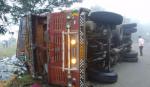மகாராஷ்டிராவில் லாரி கவிழ்ந்து 11 பேர் பலி | 11 labourers killed as truck overturns in Maharashtra