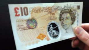 இங்கிலாந்தில் 2018 மார்ச்க்கு பின் 10 பவுண்ஸ் நாணயத்தாள் ஏற்றுக் கொள்ளப்படாது | The old £10 note will go out of circulation in March 2018