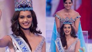 உலக அழகி பட்டம் வென்ற மனுஷி சில்லார் | India's Manushi Chhillar brings home Miss World crown after 17 years