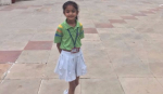 Indian schoolgirl asking PM Modi to save her park