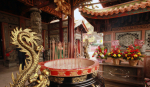 Taiwan protests against curbing of incense burning