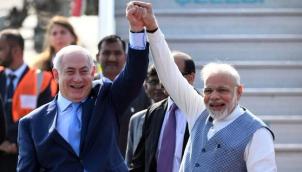 Netanyahu and Modi praise 'new era' in India-Israel ties