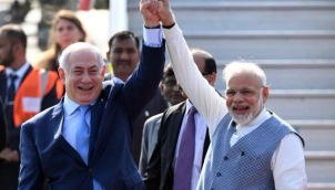 यहूदी-हिंदू राष्ट्र की मुहिम मज़बूत करने की गर्मजोशी'- Netanyahu and Modi praise 'new era' in India-Israel ties