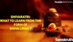 Shivaratri What to learn from the form of Shiva Linga