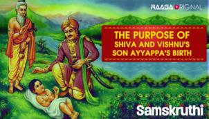 The purpose of Shiva and Vishnu's son Ayyappa's birth