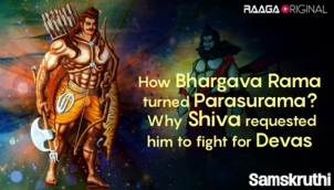 How Bhargava Rama turned Parasurama ? Why Shiva requested him to fight for Devas