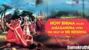 How Bhima Killed Jarasandha With The Help Of Sri Krishna