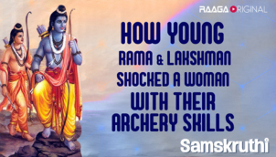 How young Rama & Lakshman shocked a woman with their archery skills