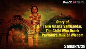 Story of Thiru Gnana Sambandar, the child who drank Parvathi's milk of wisdom
