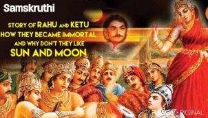 Story of Rahu and Ketu: How they became immortal and why don't they like Sun and Moon