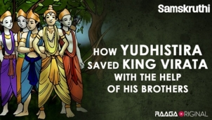 How Yudhistira saved King Virata with the help of his brothers