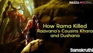 How Rama Killed Raavana's Cousins Khara and Dushana