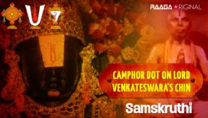 Camphor Dot on Lord Venkateswara's Chin