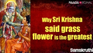 Why Sri Krishna said grass flower is the greatest