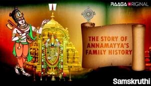 The Story of Annamayya's Family History