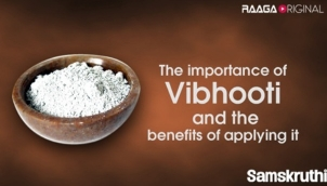 The importance of Vibhooti and the benefits of applying it