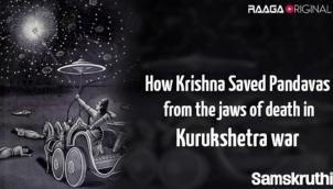 How Krishna saved Pandavas from the jaws of death in Kurukshetra war