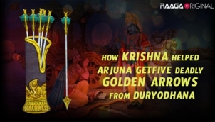 How Krishna Helped Arjuna Get Five Deadly Golden Arrows From Duryodhana