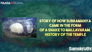 Story of how Subramanya came in the form of a snake to Mallavaram. History of the temple