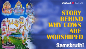 Story behind why cows are worshiped
