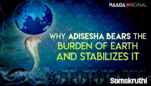 Why Adisesha bears the burden of earth and stabilizes it