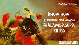 Know how Sri Krishna got demon Pralambasura killed