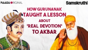 How Gurunanak taught a lesson about 'real devotion' to Akbar
