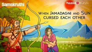 When Jamadagni and Sun cursed each other