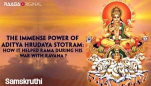 The immense power of Aditya Hrudaya Stotram: How it helped Rama during his war with Ravana