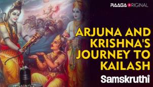 Arjuna And Krishna's Journey To Kailash